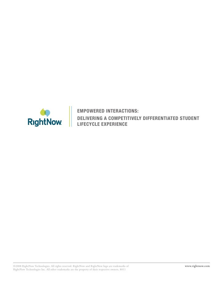 EmpowErEd IntEractIons:                                                      dElIvErIng a compEtItIvEly dIffErEntIatEd stu...