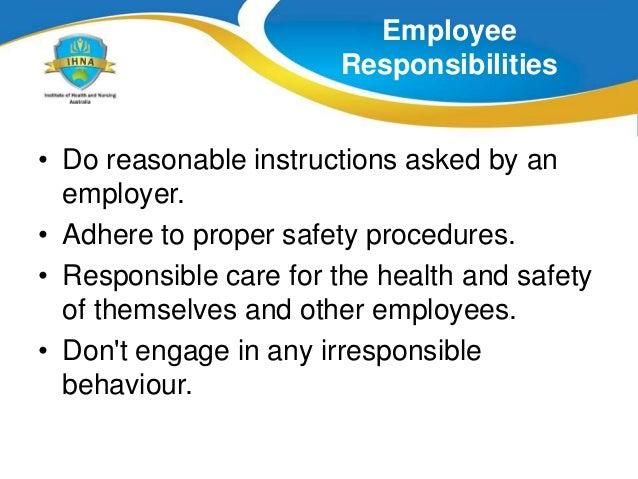 the rights and responsibilities of employers and employees essay Responsibilities and rights of employees and employers essay 1743 words | 7 pages 1 know the statutory responsibilities and rights of employees and employers within own area of work.