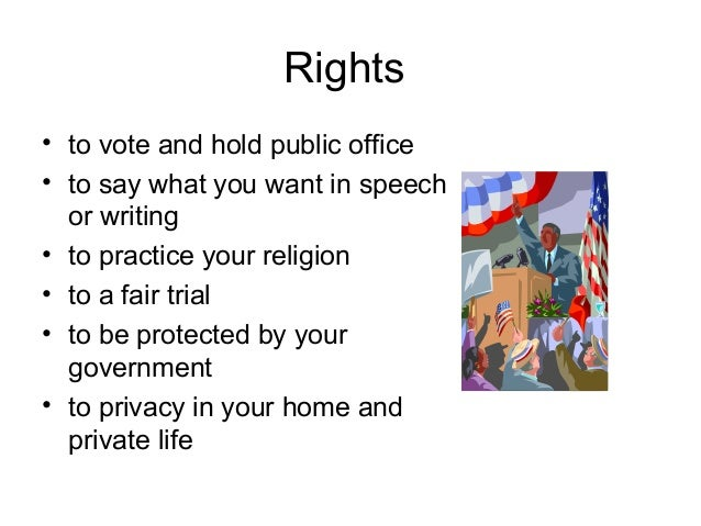 rights and responsibilities of citizens essay