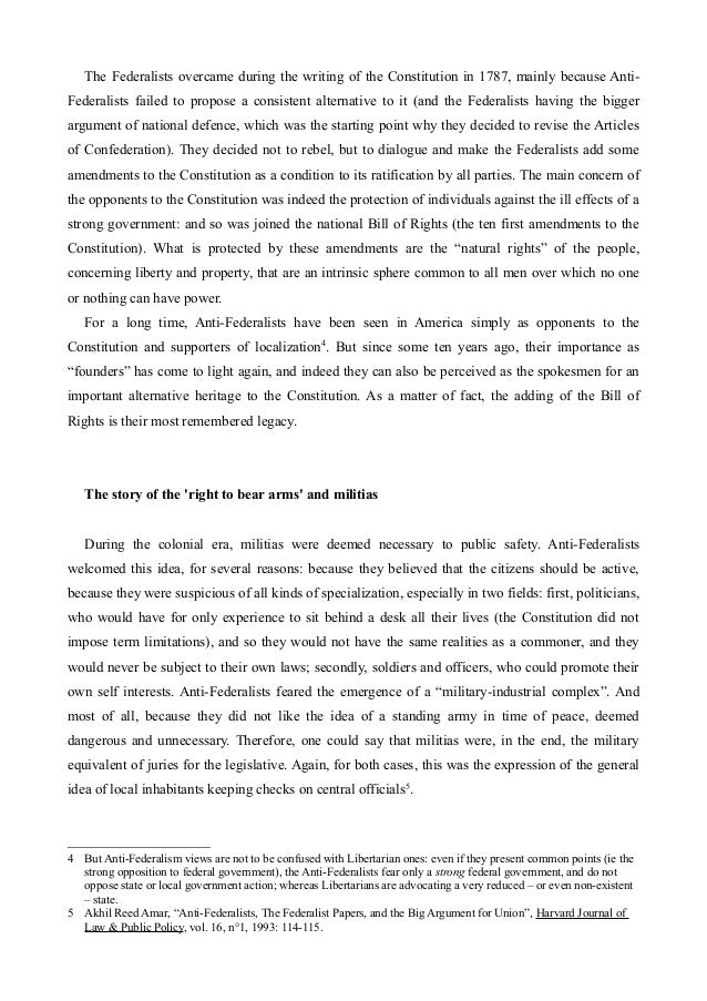 Federalist Papers Summary No. 29