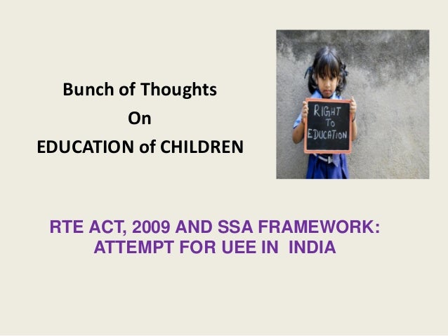 the right to education as a