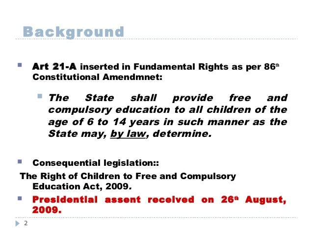 rte right to education in india Right to education : circular regarding compulsory participation of officers in public grievence program under rte 2009 dated:13-10-2017 23-10-2017 : karnataka right of children to free and compulsory education rules, 2012 government of india - the right of children to free and.
