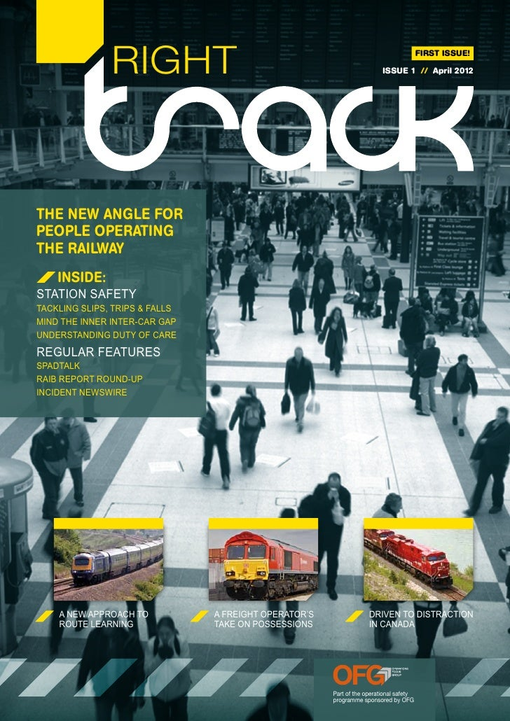 Right Track Issue 1