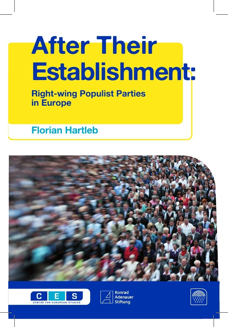 After their establishment: Right-wing Populist Parties in Europe