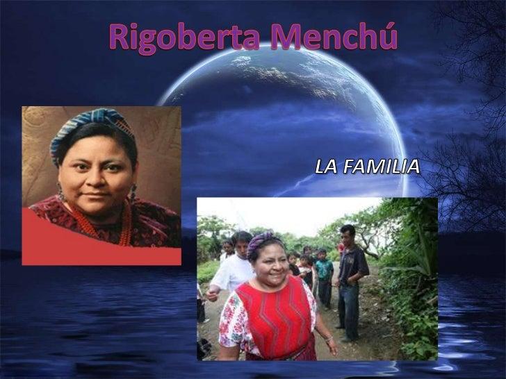 Rigoberta Menchú     Estudios