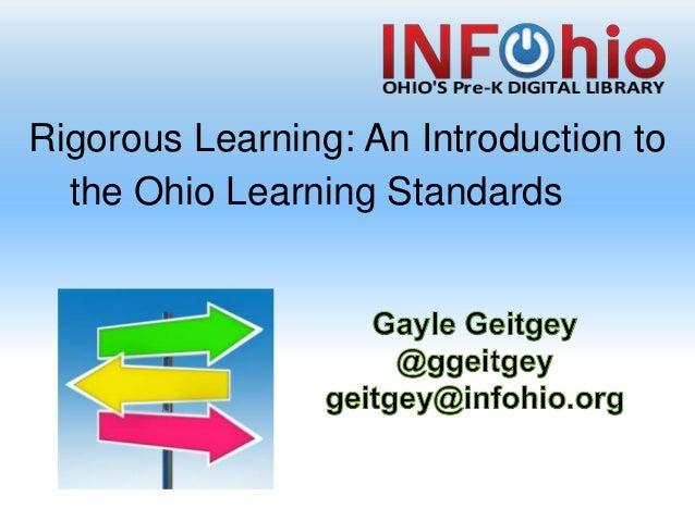 Rigorous Learning