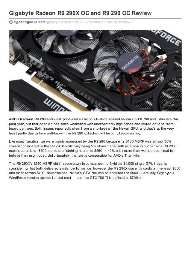 Gigabyte Radeon R9 290X OC and R9 290 OC Review rigsandgeeks.com /gigabyte-radeon-r9-290x-oc-and-r9-290-oc-review-2/  AMD'...