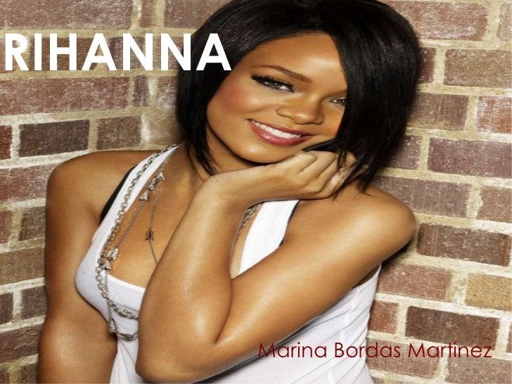 RIHANNA Marina Bordas Martínez