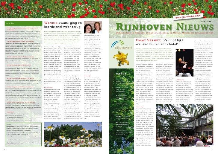 Bevat Jaarverslag 20042 0 0 6                                                                                             ...
