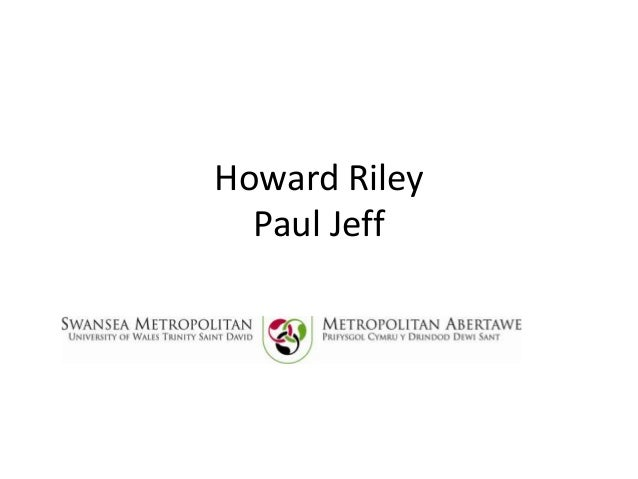 Howard Riley Paul Jeff