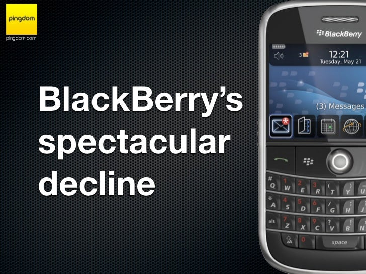 BlackBerry's spectacular decline