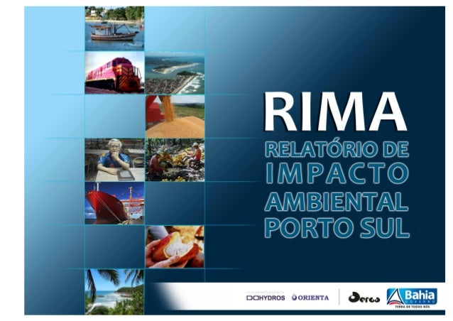 RIMA RELATÓRIO DE  IMPACTO AMBIENTAL  PORTO SUL