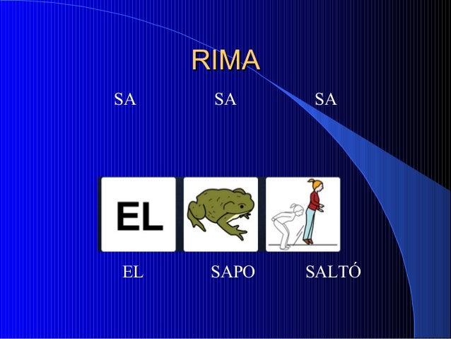 RIMARIMA SA SA SA EL SAPO SALTÓ
