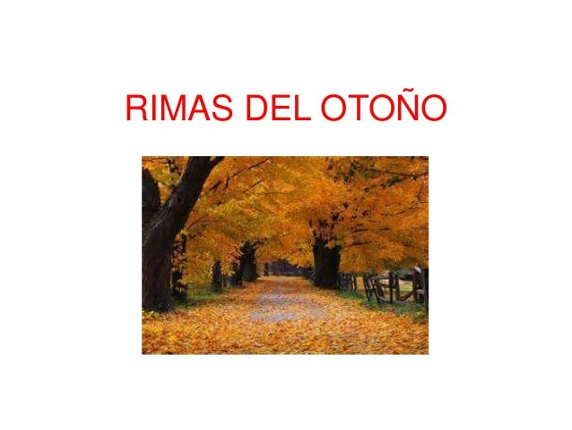Rimas del otoño