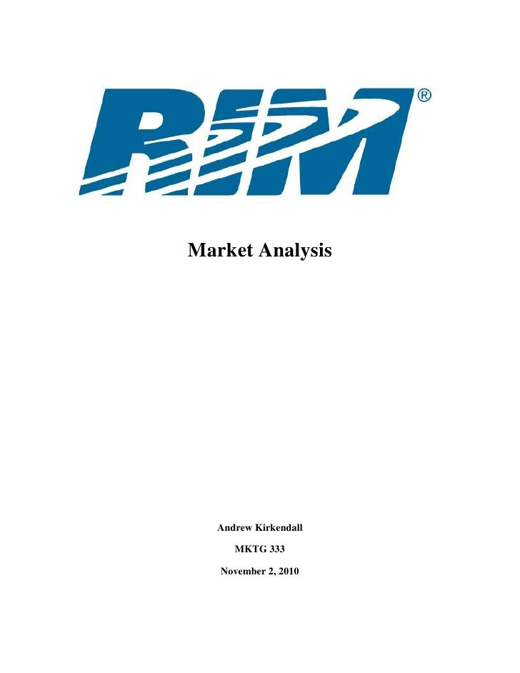 Market Analysis<br />Andrew Kirkendall<br />MKTG 333<br />November 2, 2010<br />Table of Contents<br />Introduction…………………...