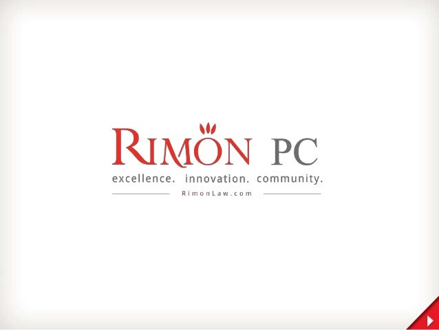 RIMON 1 Rimon combines the close-knit collaboration and agility of a high-end boutique law firm, with the comprehensive mu...
