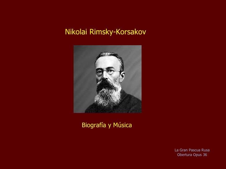 Rimsky Korsakov   Biografia