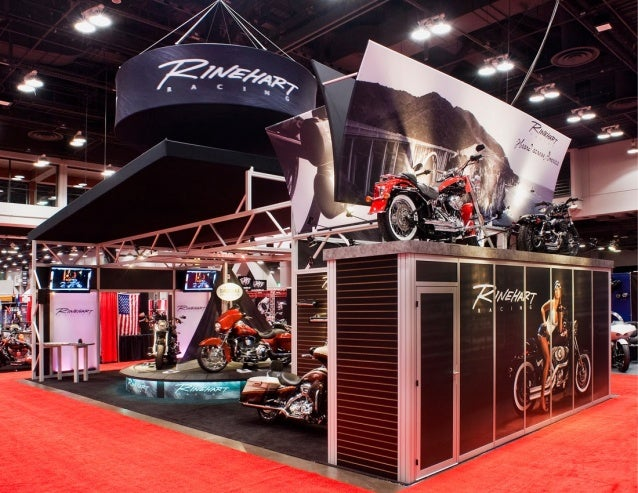 Rinehart 20x40 trade show booth
