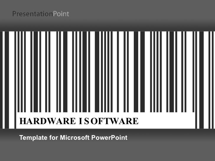 HARDWARE I SOFTWARE Template for Microsoft PowerPoint