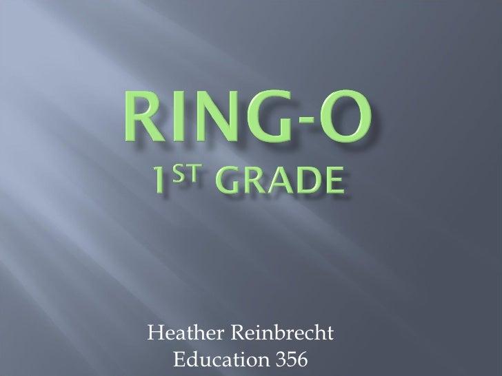 Heather Reinbrecht Education 356