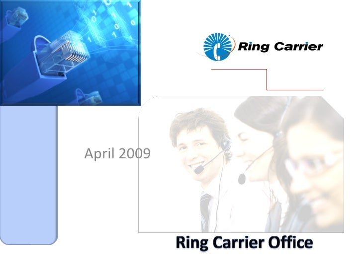 Ring Carrier Office Sales June 1 09