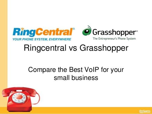 Ringcentral vs GrassHopper - the comparison