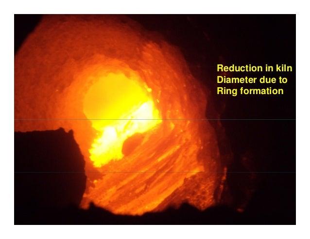 Inside Cement Kiln : Ring formation in kilns