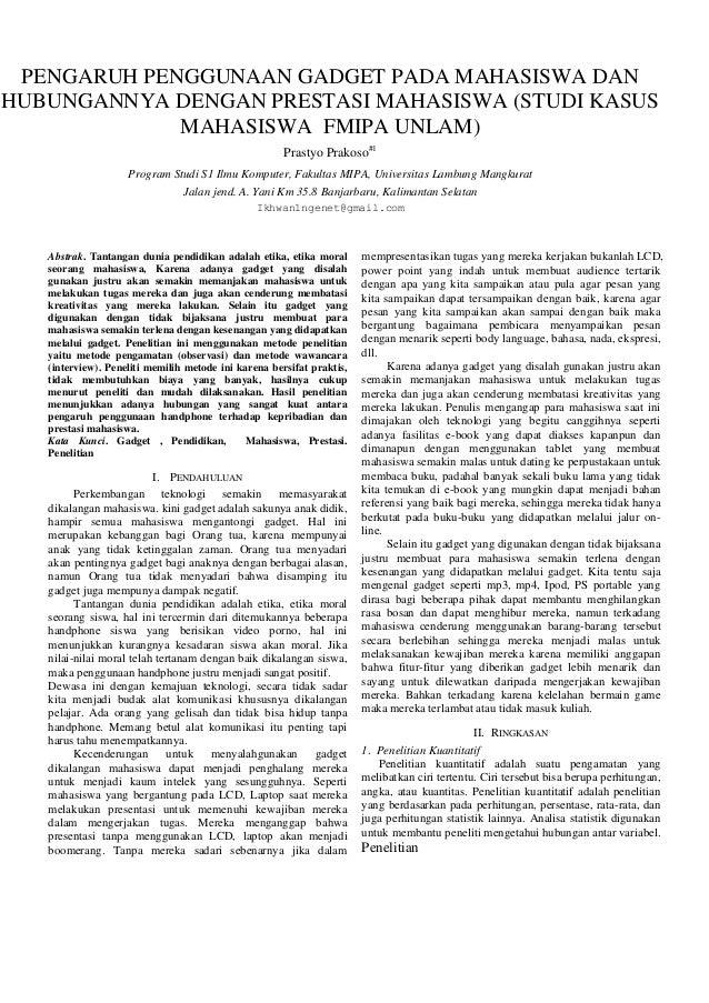 Ringkasan penelitian prastyo prakoso j1 f111031