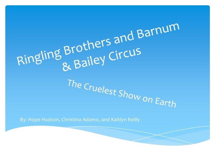 Ringling Bros. Barnum & Bailey