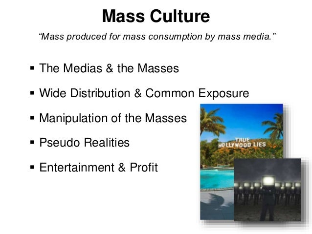 frankfurt school mass culture thesis The frankfurt school accounts within critical social theory of the importance of mass culture and communication in social reproduction and domination.