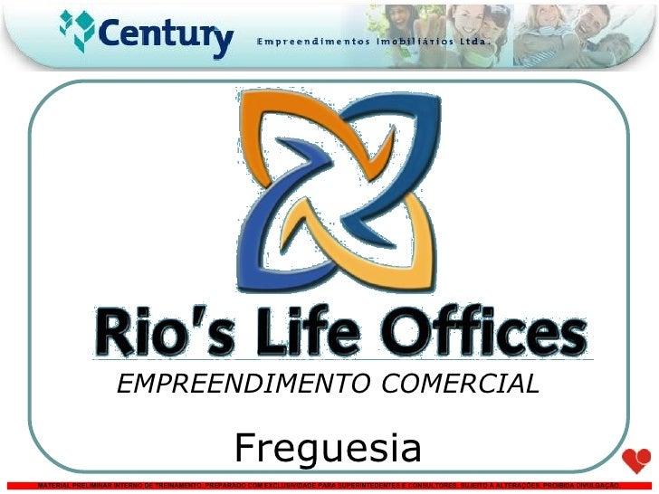 EMPREENDIMENTO COMERCIAL Freguesia