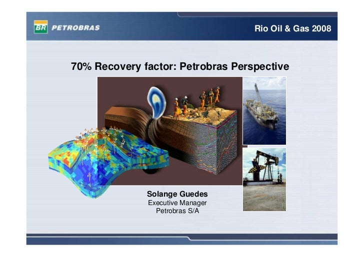 Rio Oil & Gas 2008    70% Recovery factor: Petrobras Perspective                   Solange Guedes               Executive ...