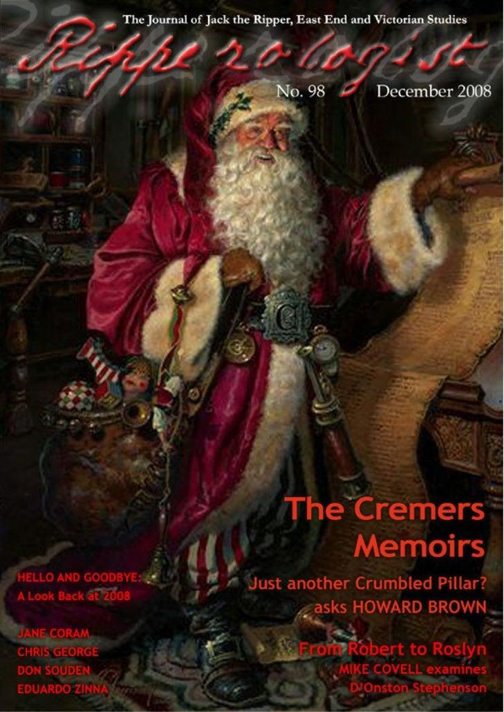 Ripperologist Magazine diciembre 2008
