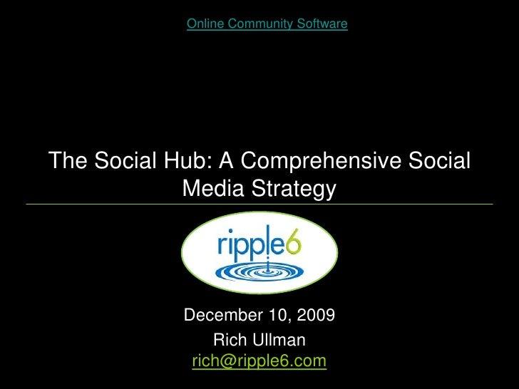The Social Hub: A Comprehensive Social Media Strategy