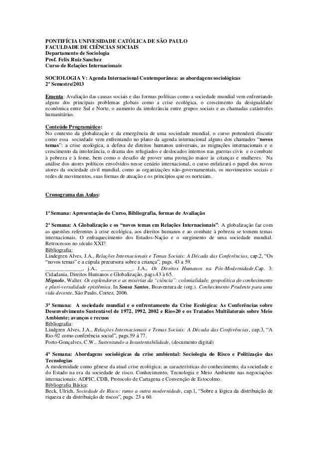 Ri programa sociologia v 2013
