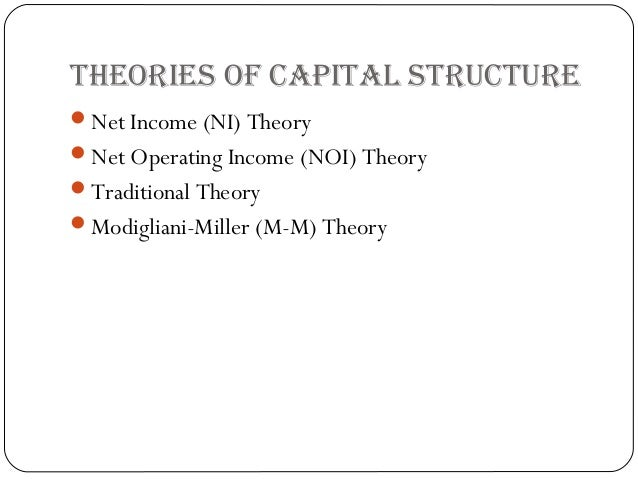signalling theory of capital structure Capital structure as a form of signaling: the use of convertible bonds rusi yan stanford university the traditional theory is the tradeoff model.