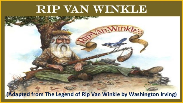 an analysis of the comedy rip van winkle by washington irving