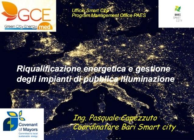 Riqualificazione energetica impianti di p.i