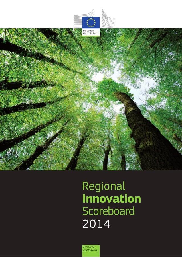 Regional  Innovation Scoreboard 2014 Enterprise and Industry