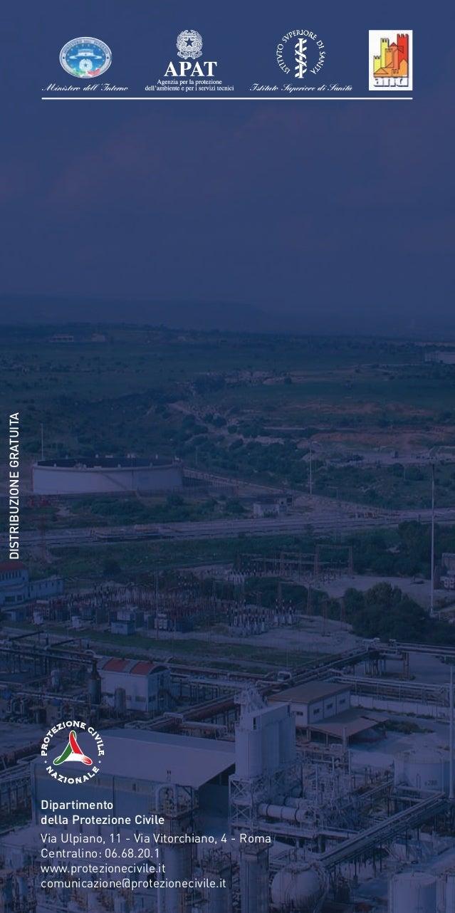Ambiente - Rischio Industriale - Vademecum per il cittadino