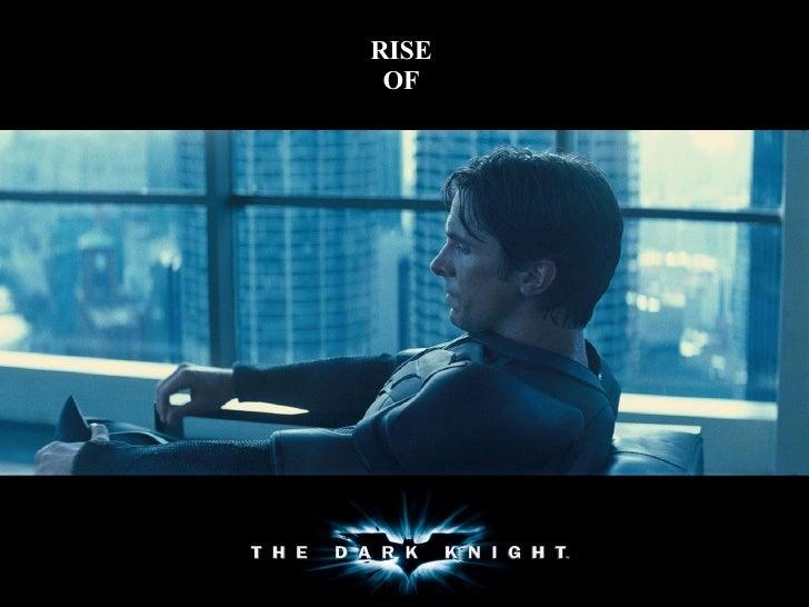 0863740 Rise Of The Dark Knight
