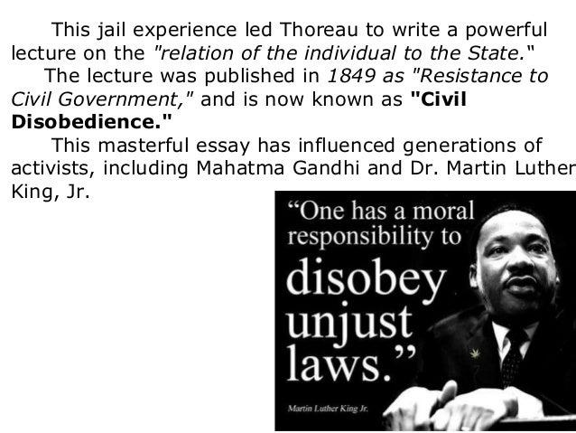 Thoreau essay