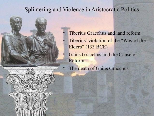 Tiberius gracchus death