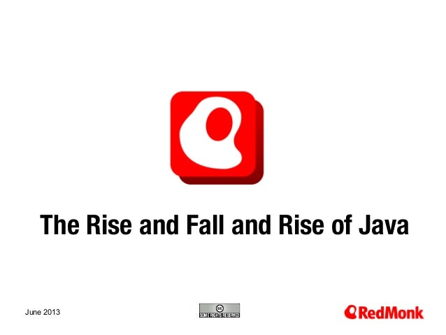 The Rise and Fall and Rise of Java (2013)