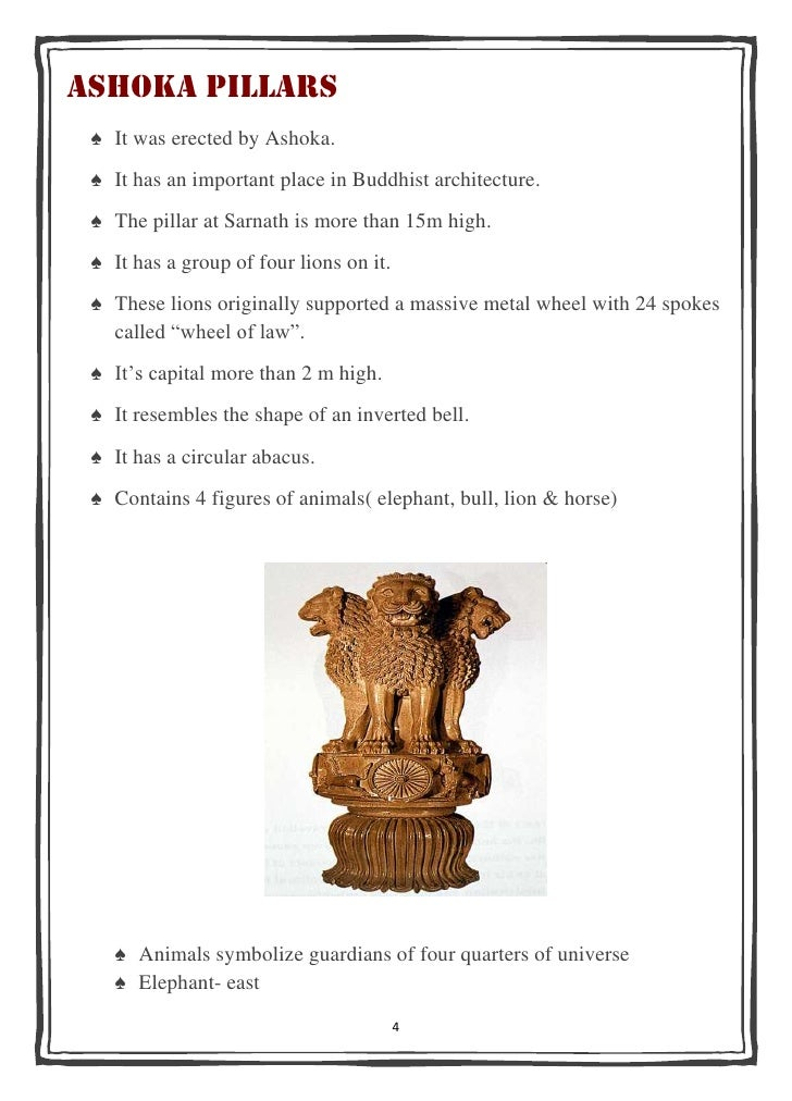 essay on sarnath Adopted by the government of india from the sarnath lion, capital of ashoka, on january 26, 1950 only three lions visible, the fourth being hidden from view.