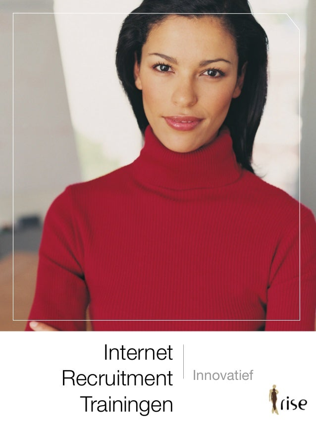 Internet Recruitment Trainingen Innovatief