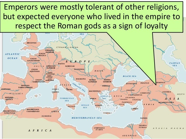 a discussion on the views on christianity in the roman empire Greek and roman polytheism compared to the foundational beliefs and spread of christianity in the ancient world.