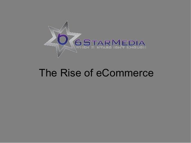 Rise of E-Commerce