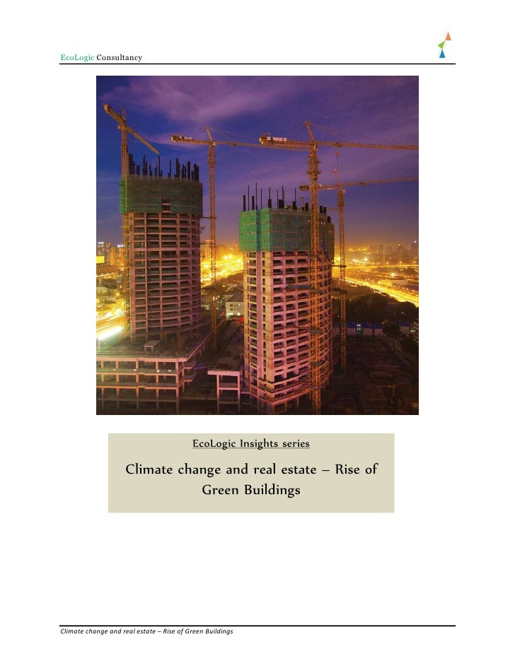 EcoLogic Consultancy                                          EcoLogic Insights series                     Climate change ...