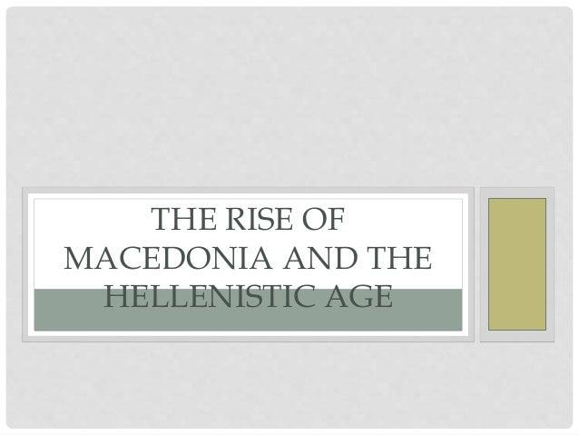 Rise of Macedon